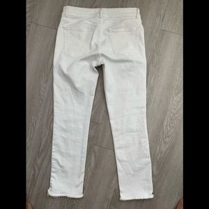 DL1961 Jeans - DL1961 Mara straight ankle Oakley 27 white jeans
